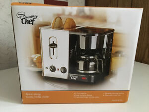 Toaster/ coffee machine, grille pain/ cafetiere