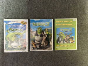 3 DVD - SHREK