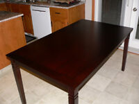 *NEW* Cashew Wood Dining Table [Espresso Color]
