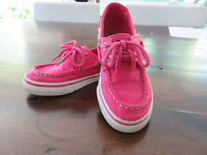 Sperry Bright Pink Girls Loafers – Size 11 - $10.00