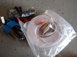 BNC cables, 1-100 ft, 2-50ft each