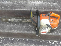 Stihl Chainsaw with New Chain