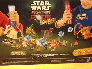FACTORY SEALED STAR WARS FIGHTER PODS RAMPAGE London Ontario image 2
