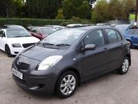 VERY LOW MILEAGE 2008 TOYOTA YARIS 1.3 85bhp MMT TR PETROL AUTOMATIC SMALL CAR