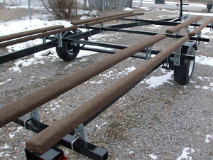 2017 BRAND NEW PONTOON BOAT TRAILER   Fits 18ft to 21 ft