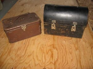 vintage lunch box's