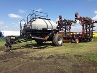 Seed Hawk drill with Flexi-coil air tank