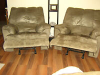 Windsor, NS  - for sale 2 recliners and 1 love seat