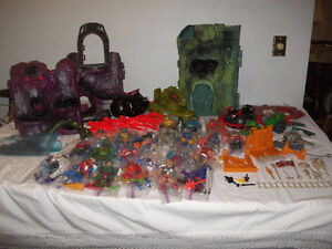MASTERS OF THE UNIVERSE COLLECTION 1980'S EXCELLENT COND.