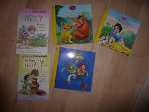 5 French Jr. books (excellent condition)
