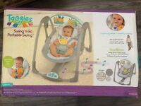 Baby swinging chair as new!