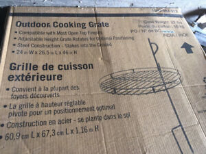 Fire pit grill - new
