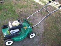 GAS  SELF  PROPELLED  LAWNMOWER