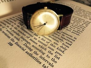Reduced Vintage Collectible German Made Mens Watch