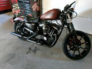2017 Harley Davidson iron 883