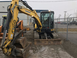 Fully loaded 2012 Yanmar VIO55-5B with Hyd thumb and 2 buckets