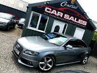 AUDI A4 2.0TDI ( 143PS ) S LINE 6 SPEED MANUAL FASH FINANCE & PARTX WELCOME VGC