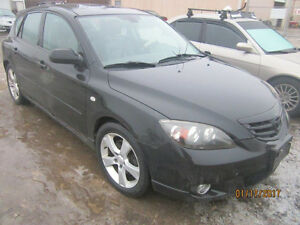 JUST IN FOR PARTS! 2004 MAZDA 3 @ PICNSAVE WOODSTOCK!