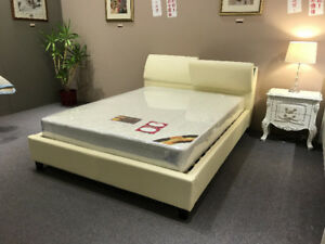 CLEARANCE Leather Queen Bed Set $899 ONLY!