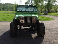 Jeep rock crawler for trade