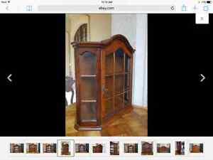 Wall / curio cabinet
