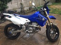 Suzuki Drz 400 supermoto swap / px for bigger bike