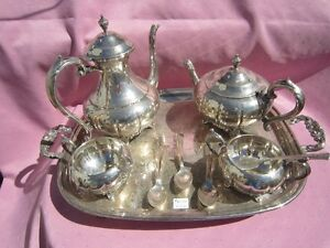 ANTIQUE/VINTAGE ASSORTED SILVER PLATE ITEMS FOR SALE