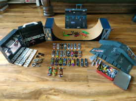 Tech Deck Collection and other brands-( skateboards/bikes/ramps)