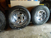 DODGE RUCK RIMS AND TIRES