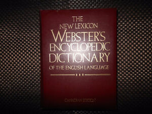 Webster's Encyclopedic Dictionary of the English Language