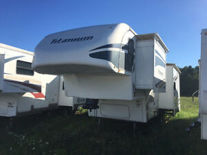 2007 Glendale 29E34TS Titanium 29 Ft T/A 5th Wheel
