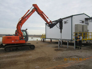 SCREW PILES INSTALL AND SUPPLY OR INSTALL ONLY Strathcona County Edmonton Area image 3