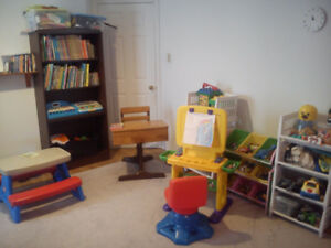 Childcare available Emily Park Area on bus route