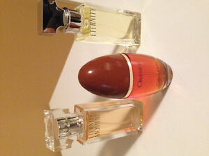Set of 3 Calvin Klein signature perfumes