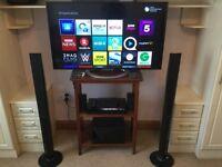 Sony KDL-47W805A 47-inch Smart 3D Full HD 1080P LED TV + Sony BDV-E4100