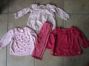 Gymboree 18-24 Month 'Lot's of Hearts' Line Oufits