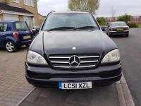 2001 Mercedes-Benz M Class 2.7 ML270 CDI 5dr