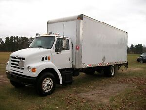 2001 FORD STERLING DELIVERY BOX TRUCK PWR TAILGATE
