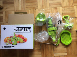 Raw grinder Juicer Mincer Blender