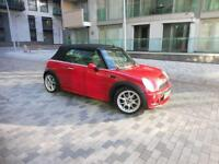 Mini Cooper 1.6 Convertible Red Leather Automatic Cooper S Rep JCW