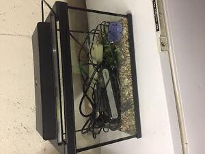 Fish tank/aquarium with all accessories