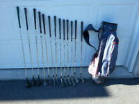 Golf clubs and bag-Reduced from $125.00