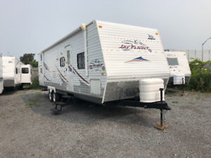2008 JAYCO G2 31BHS IN AMAZING SHAPE WITH 4 BUNKS  $13,900
