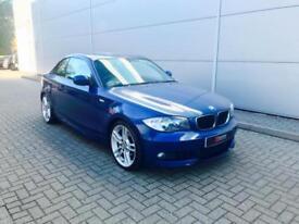 2010 10 reg BMW 120d M Sport Coupe M Sport + Blue + Nice spec