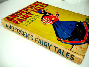 1940s rare WARTIME ANDERSEN'S FAIRY TALES plates Anne Anderson Cambridge Kitchener Area image 2