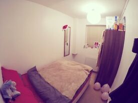Cozy single room with double bed