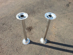 RV table Pedestal legs