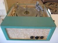 1950's Antique Electrohome Stereophonic Tube Amp Turntable