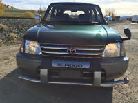 1996 Toyota Land Cruiser Prado 4wd, 136 km, forest green, 7 seat