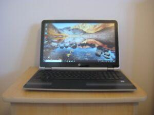 "15.6"" 1080p HP 2-in-1 touch Laptop, i5-7200U, 8GB RAM, 1TB HDD"